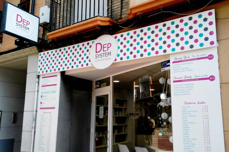 Entrevista a comercios en Calle Delicias: Dep System.